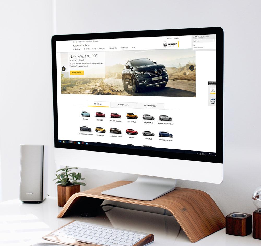 PPC kampaně Renault