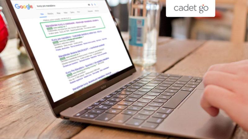 Správa PPC kampaní pro úspěšnou společnost CADET GO Slovakia