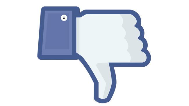 Nové funkce FAcebook dont like
